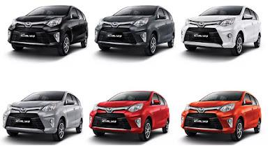 Simulasi Cicilan Toyota Calya 2018 di Tangerang