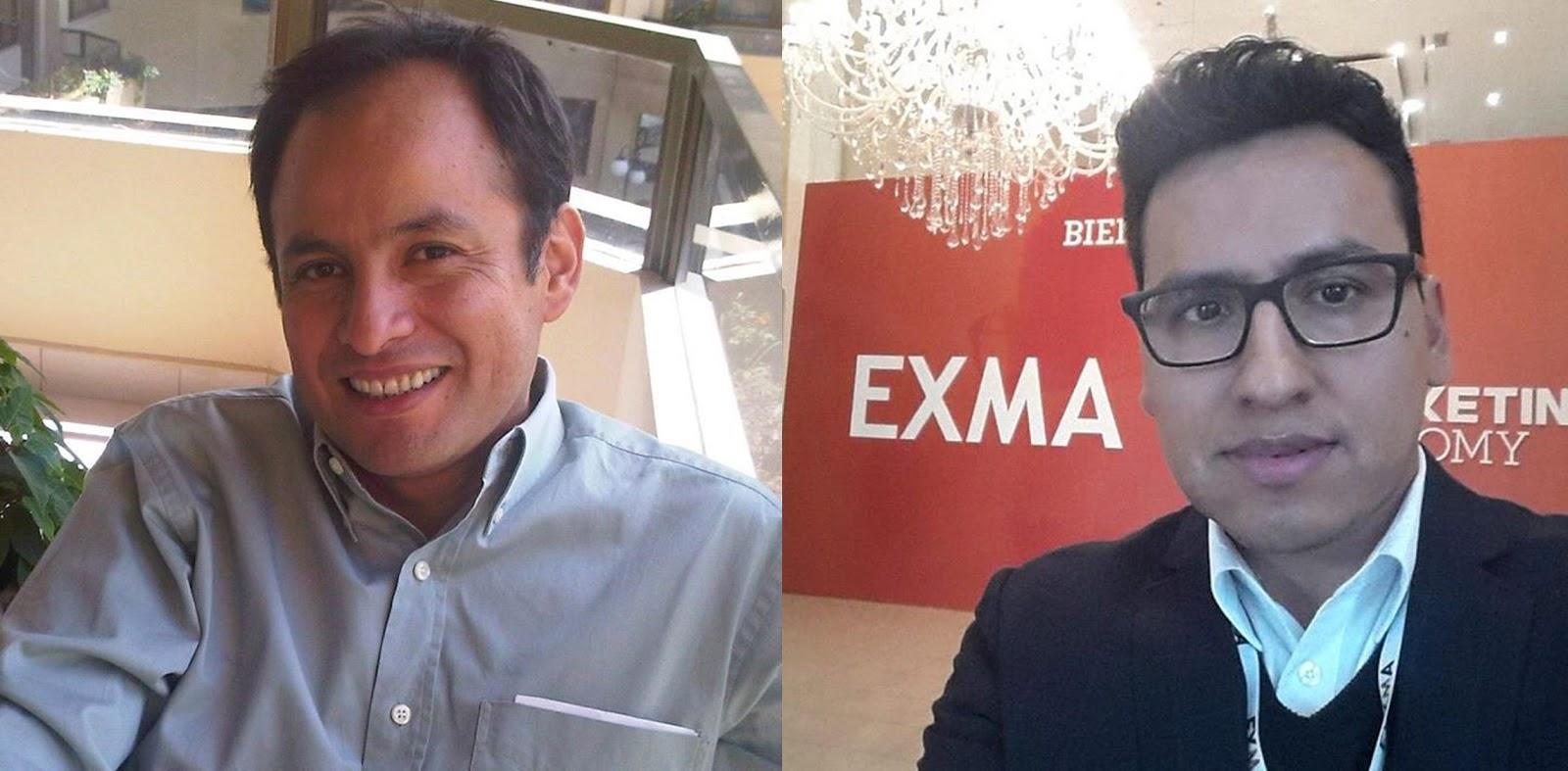 Los educadores David Escalera de Cochabamba y Santos Ávalos de Yacuiba / GEG BOLIVIA