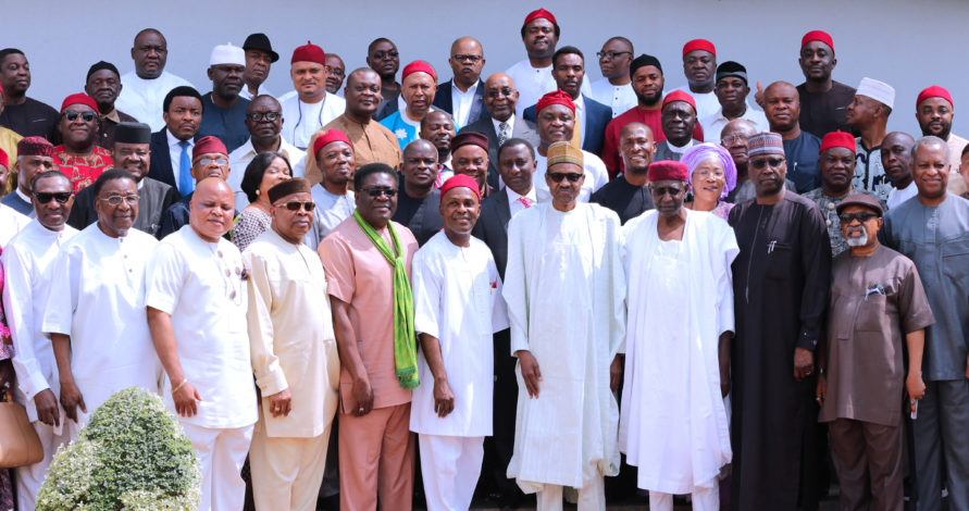 igbo apc leaders buhari 2nd term