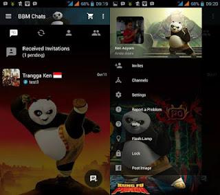 Download BBM Mod Kungfu Panda v2.10.0.31 Apk