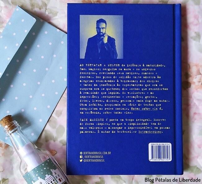 Resenha, livro, Notas-sobre-ela, Zack-Magiezi, Bertrand, Poesia, trechos, quote, opiniao, blog-literario, petalas-de-liberdade, capa, sinopse