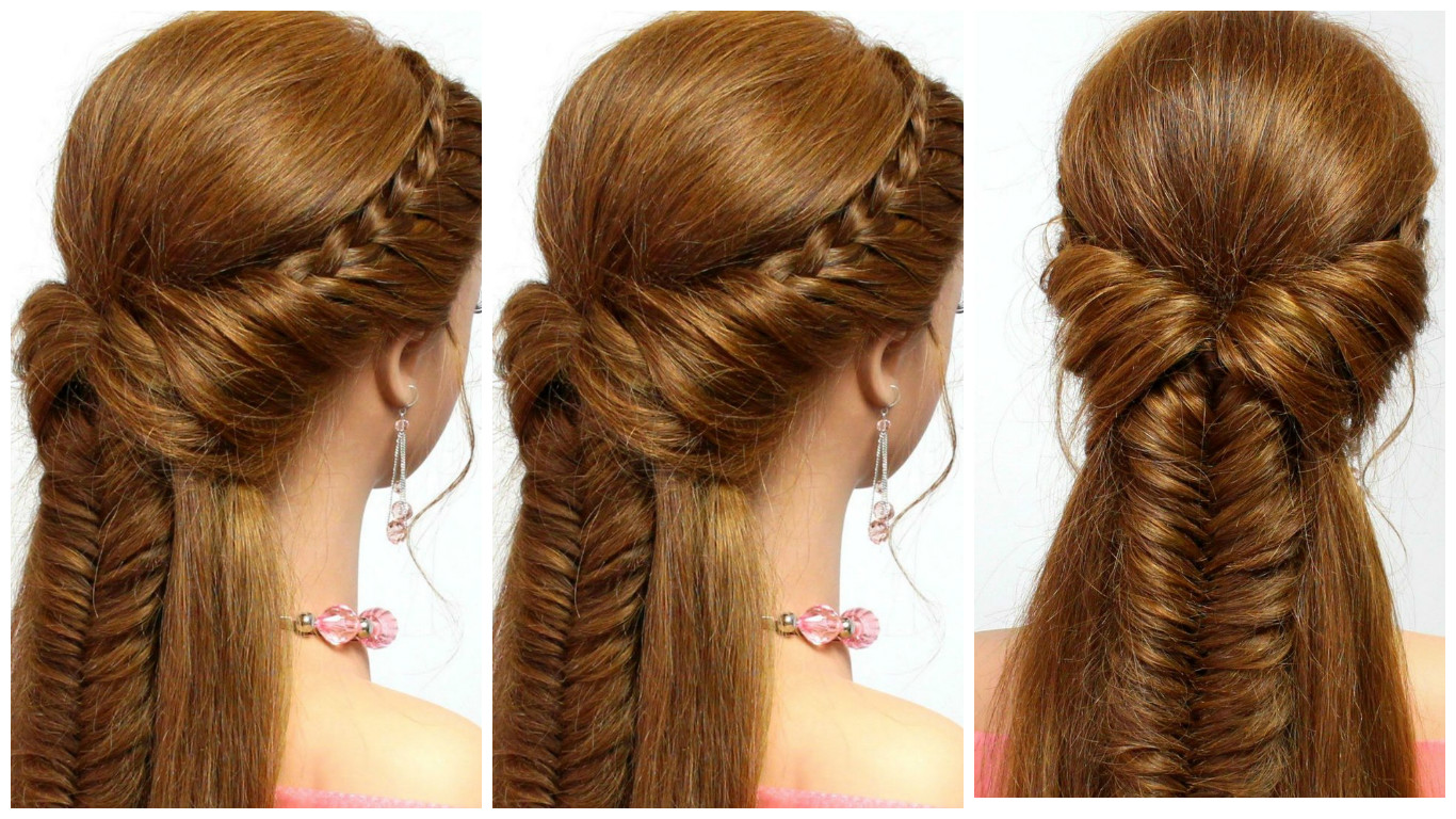 Trenzas hermosas con efecto de 3d belleza y peinados - Trenzas peinados faciles ...