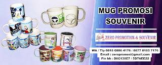Jual mug keramik promosi | souvenir mug murah