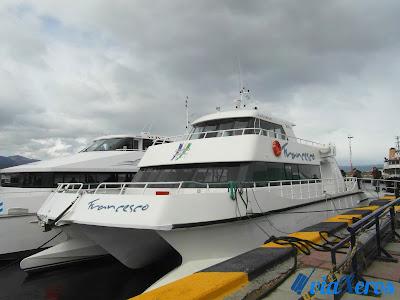 catamarán canoero