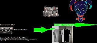 Langkah Cara Mudah Mendesain Kaos Suicide Squad Menggunakan Corel Draw