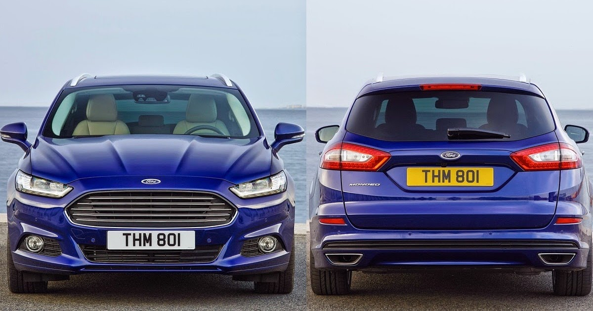 2015 Ford Mondeo Wagon 16 Litre Tdci Diesel Car Reviews New Car