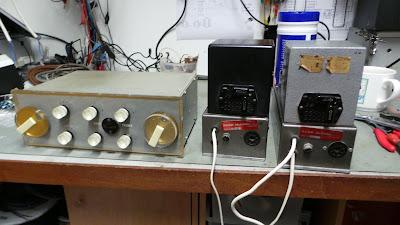 Kerr McCosh DS1 & CWA 10 amplifier restoration.