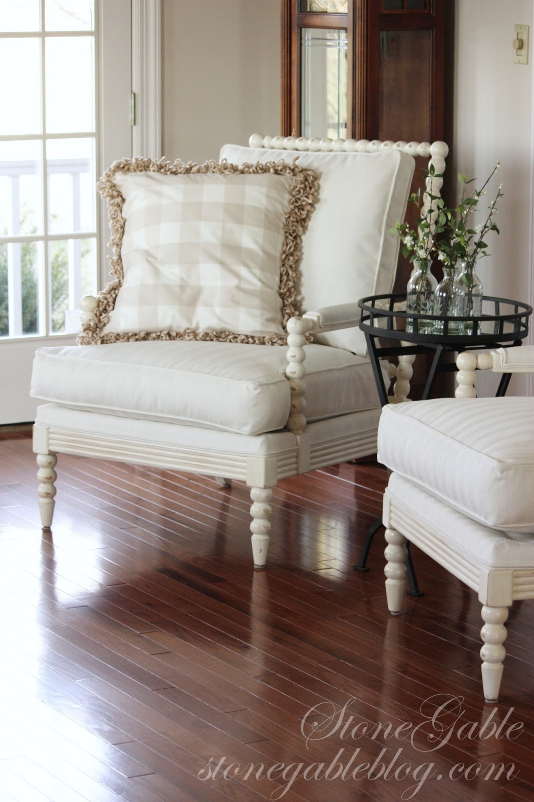 NEW LIVING ROOM CHAIRS  StoneGable