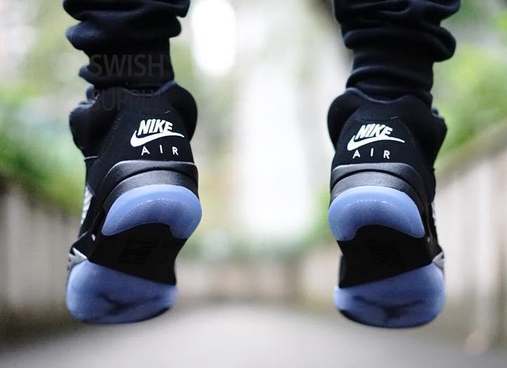 new concept 1fbf1 00022 An On-Feet Look At the 'Metallic' Nike Air Jordan 5s - GUD ...