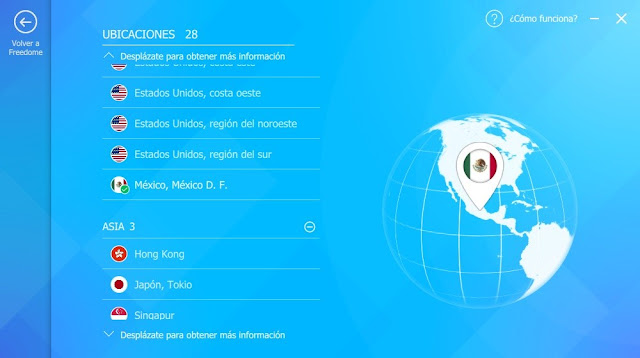 F-Secure FREEDOME VPN imagenes hd