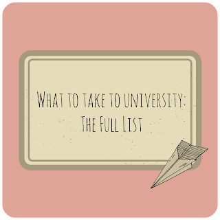 Bethan Lucy What To Take To University The Full List