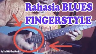 Teknik Improvisasi Melodi Gitar Blues Fingerstyle