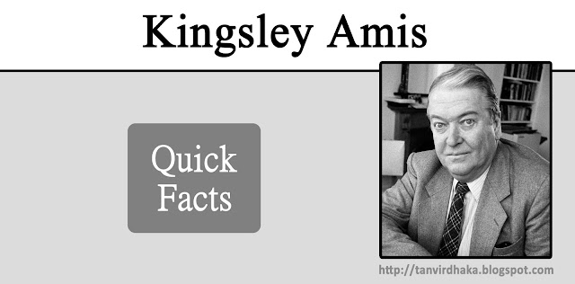 Kingsley Amis Quick Facts