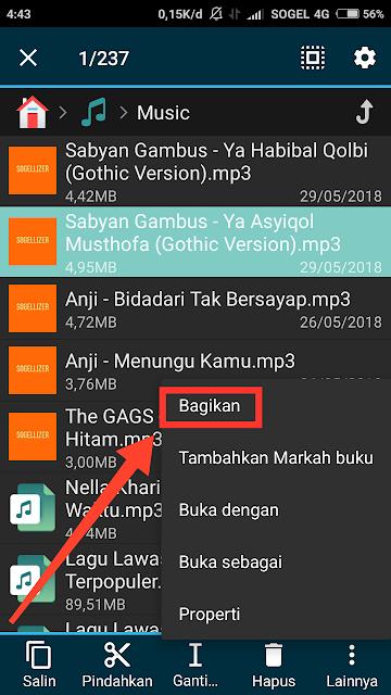 Berbagi Ke Soundcloud