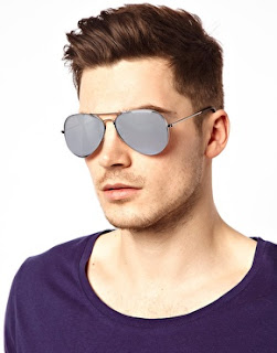 gray summer sunglasses