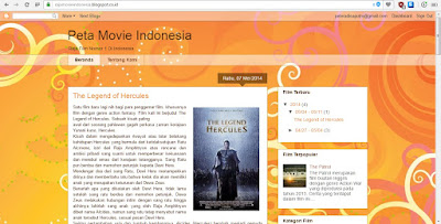 Peta Movie Indonesia - My Other Blog