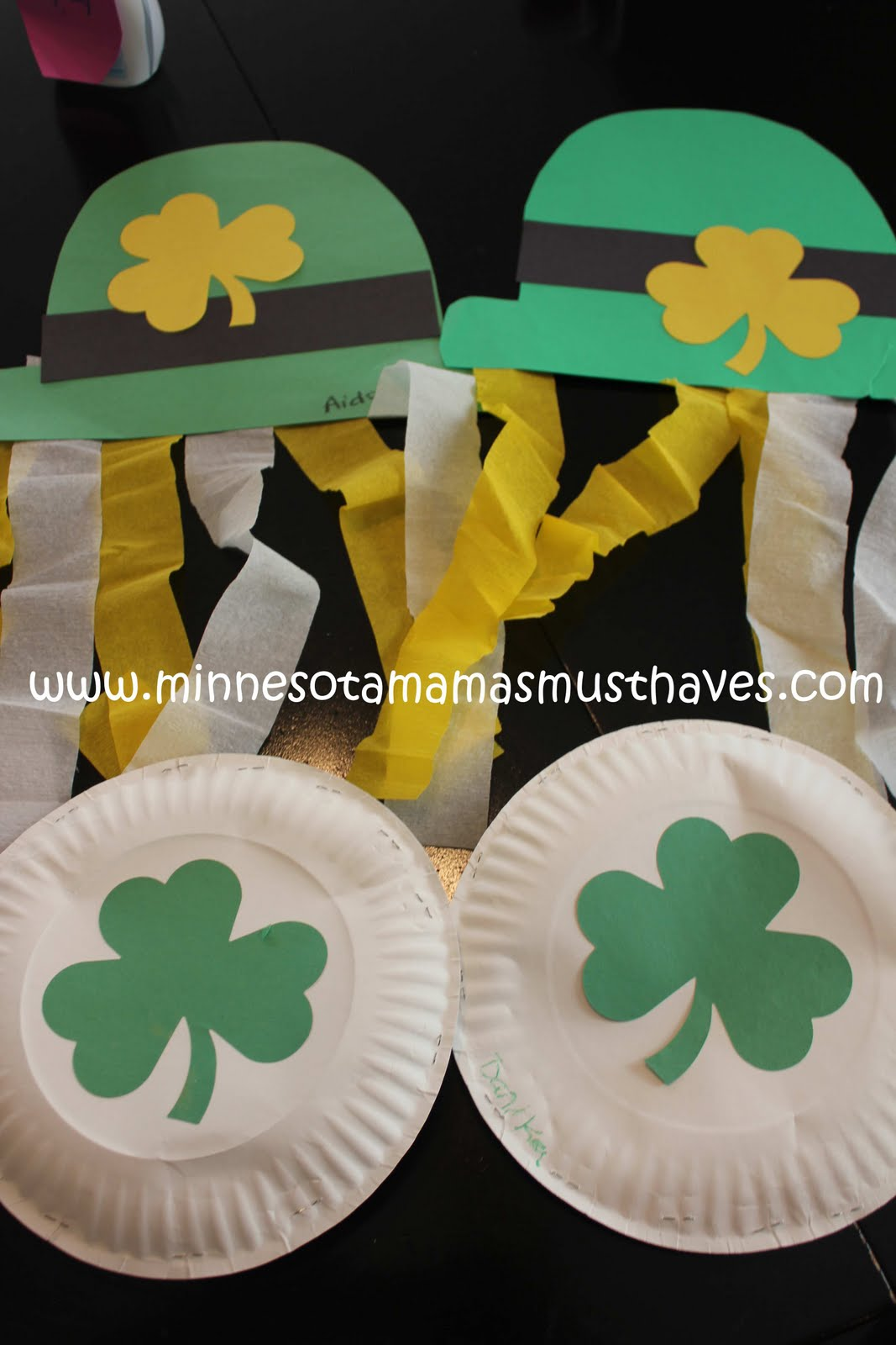Crafts For Kids And For Saint Patrick Ecosia