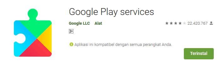 Google Play Services Playstore