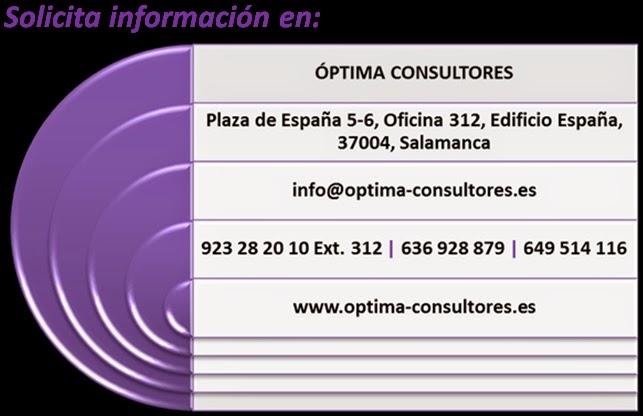 Óptima Consultores, subvención Q, subvención ISO 9001