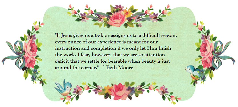 Anchors Of Grace: Beth Moore Quote