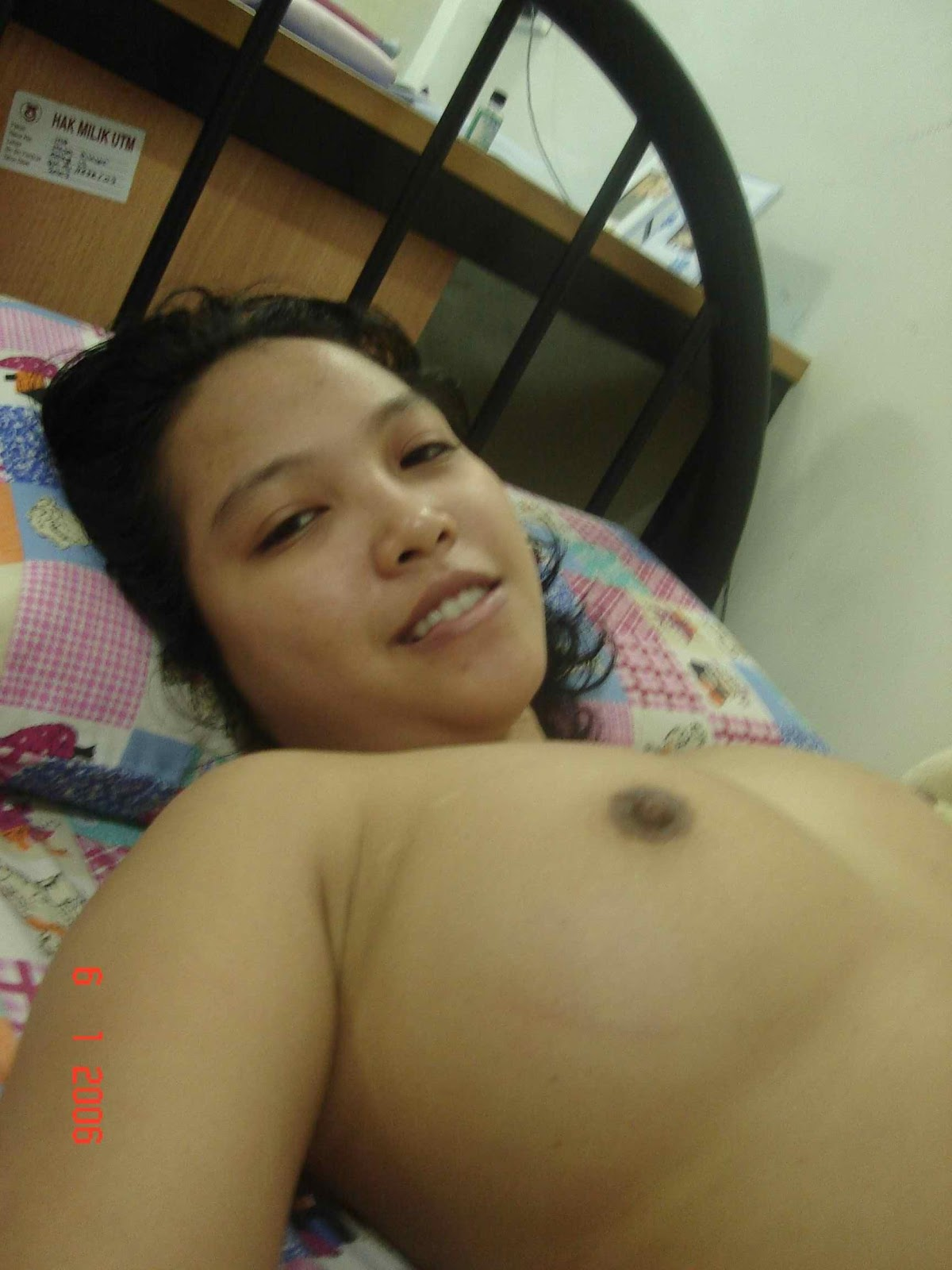 Super Cute Malaysian girl shows her lovely big boobs by ...