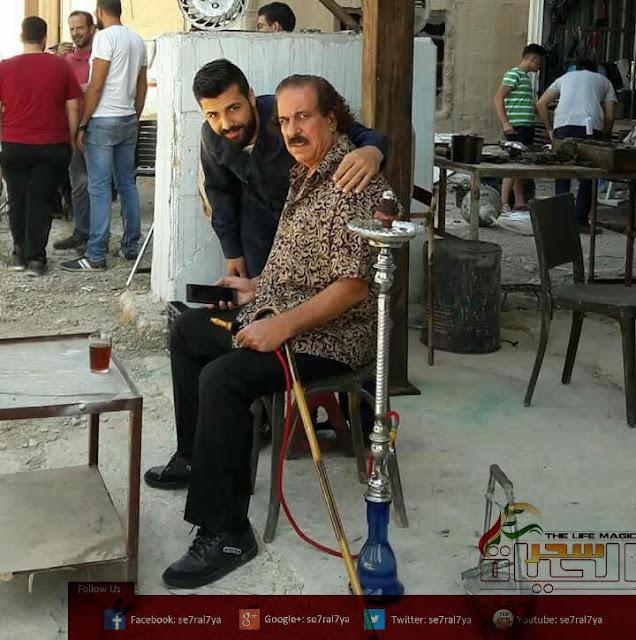 الفنان السوري رشاد نجار في هوا اصفر قريبا على شاشة رمضان