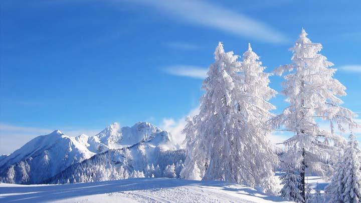 doğada çekilmiş kış resimleri
