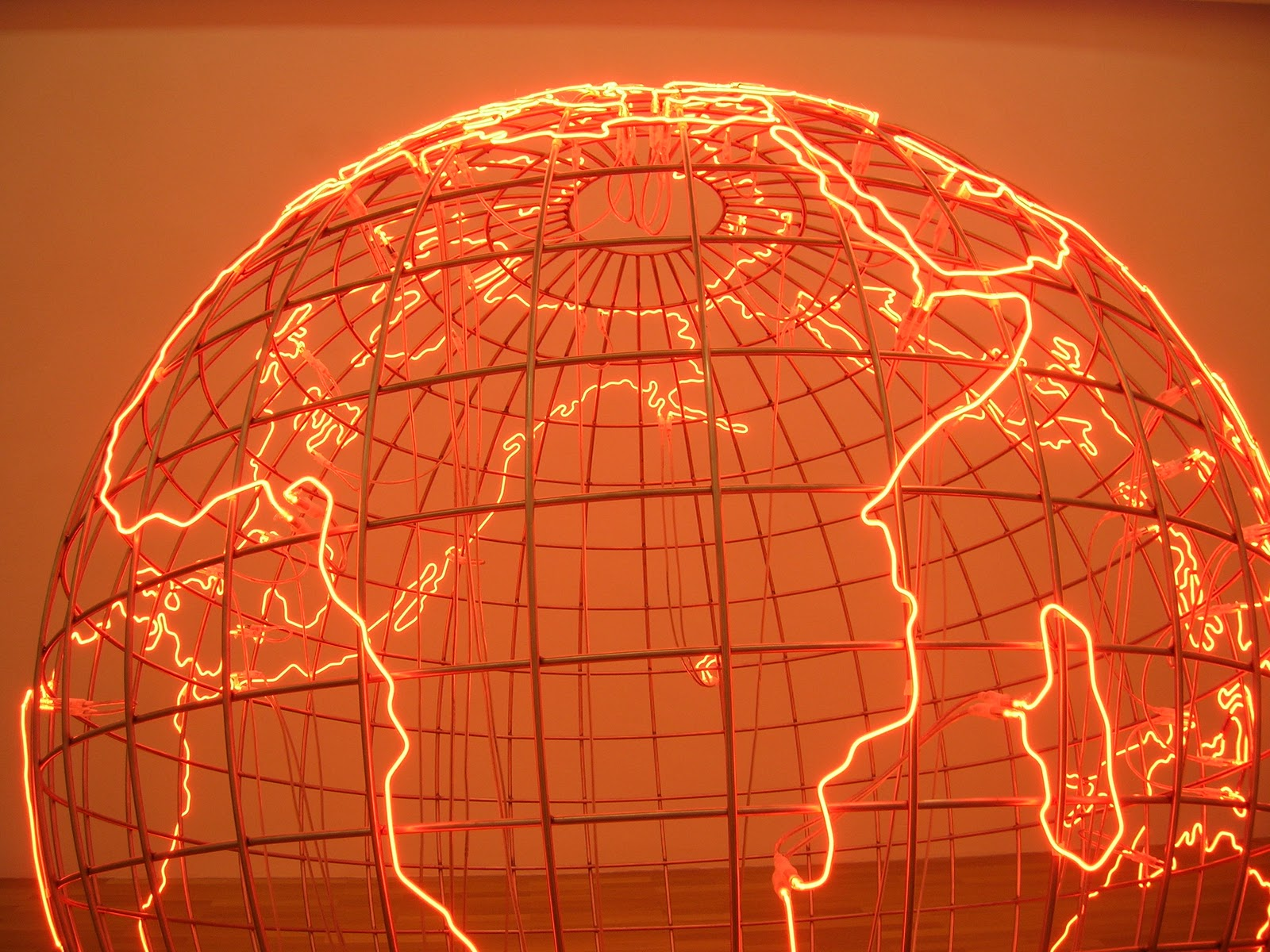 Neonneon Mona Hatoum S Hot Spot At The Goetz Collection