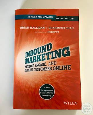 Book cover of Inbound Marketing: Attract, Engage, and Delight Customers Online by Brian Halligan & Dharmesh Shah