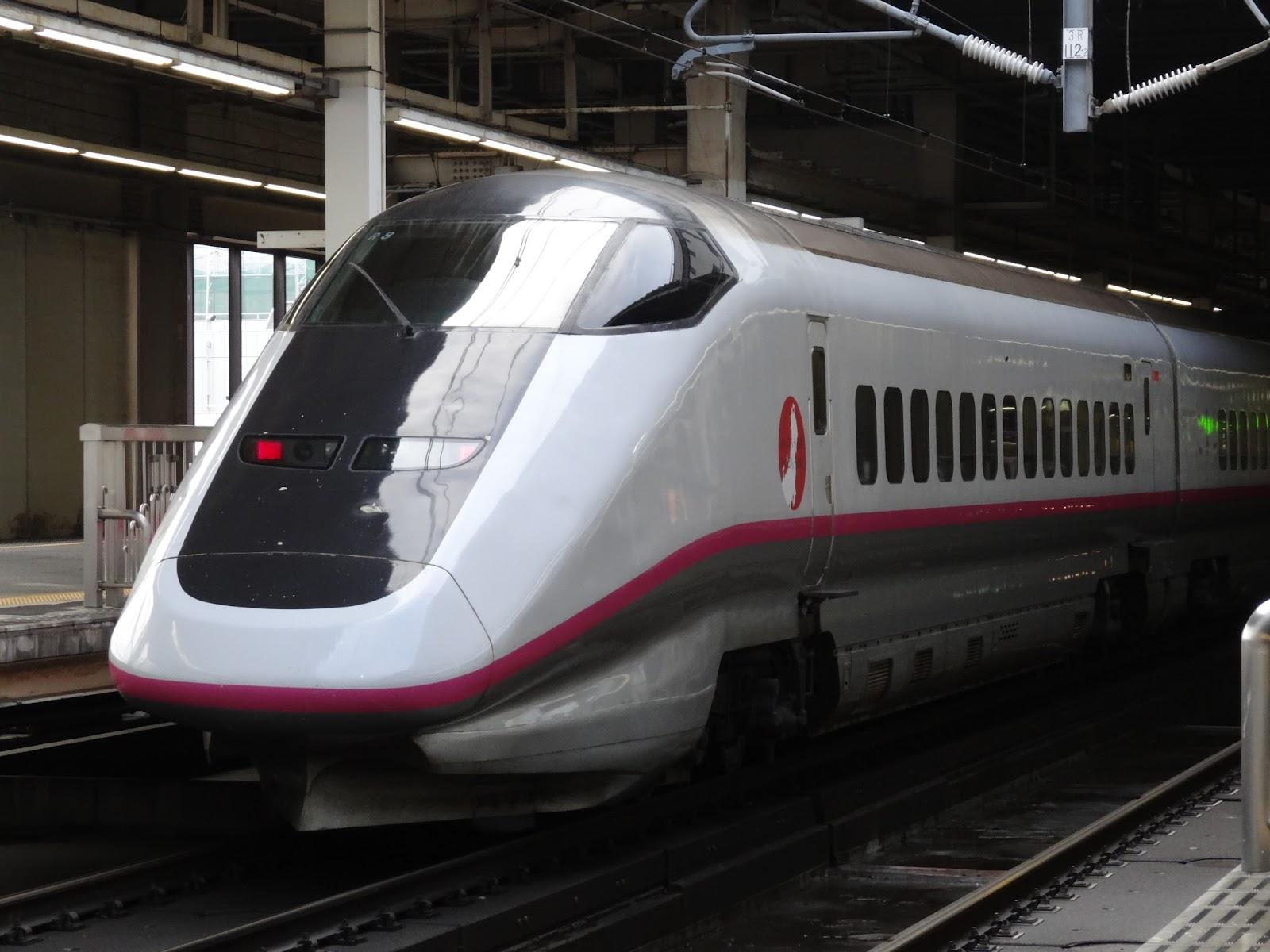 大宮駅停車中のE3系新幹線