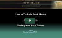 how to trade the stock market for beginners webinar - TechniTrader