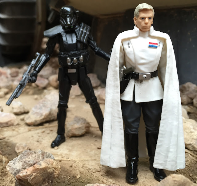 2016, Black Series, Director Krennic, Death Trooper, Rogue One, Star Wars