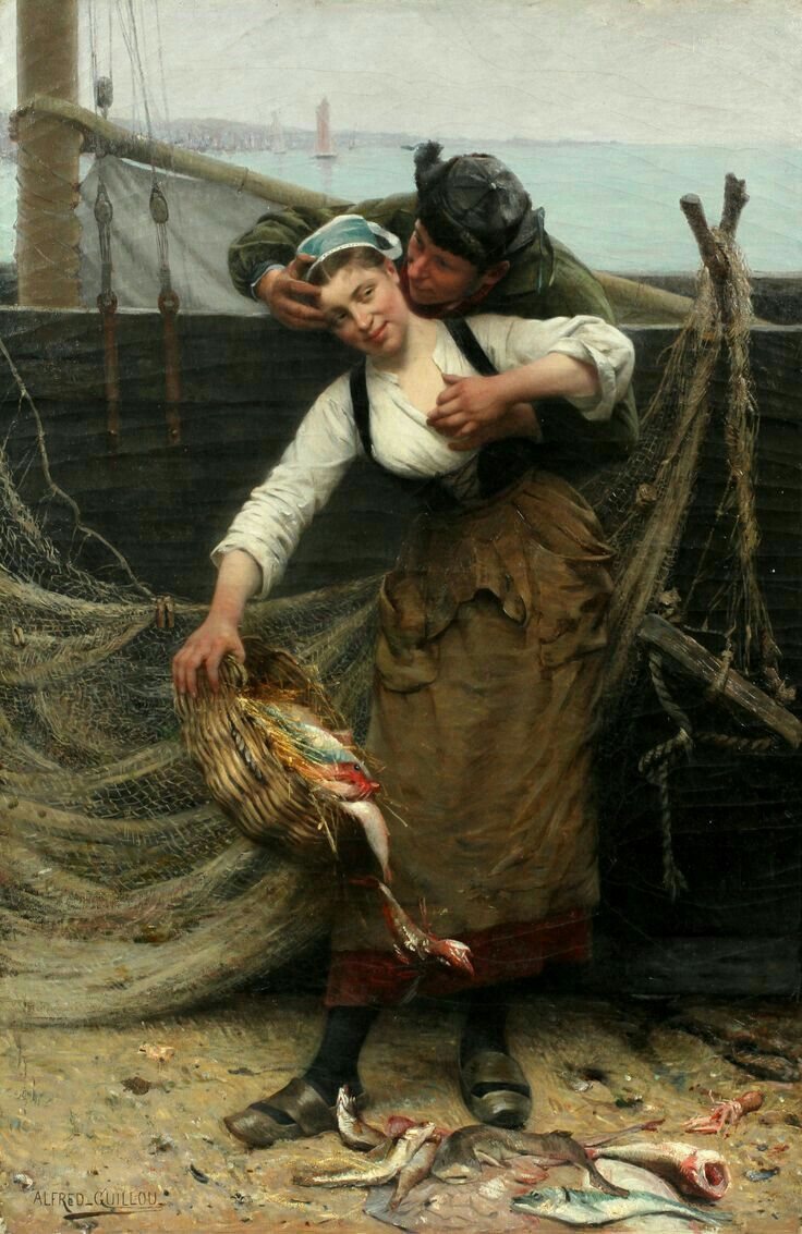 Alfred Guillou Fisher girl
