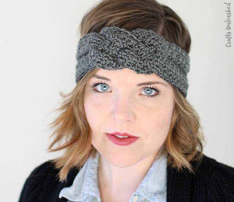 Free Crochet Pattern For Ladies Headband : Little Treasures