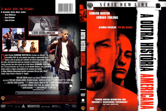 Capa DVD A Outra História Americana