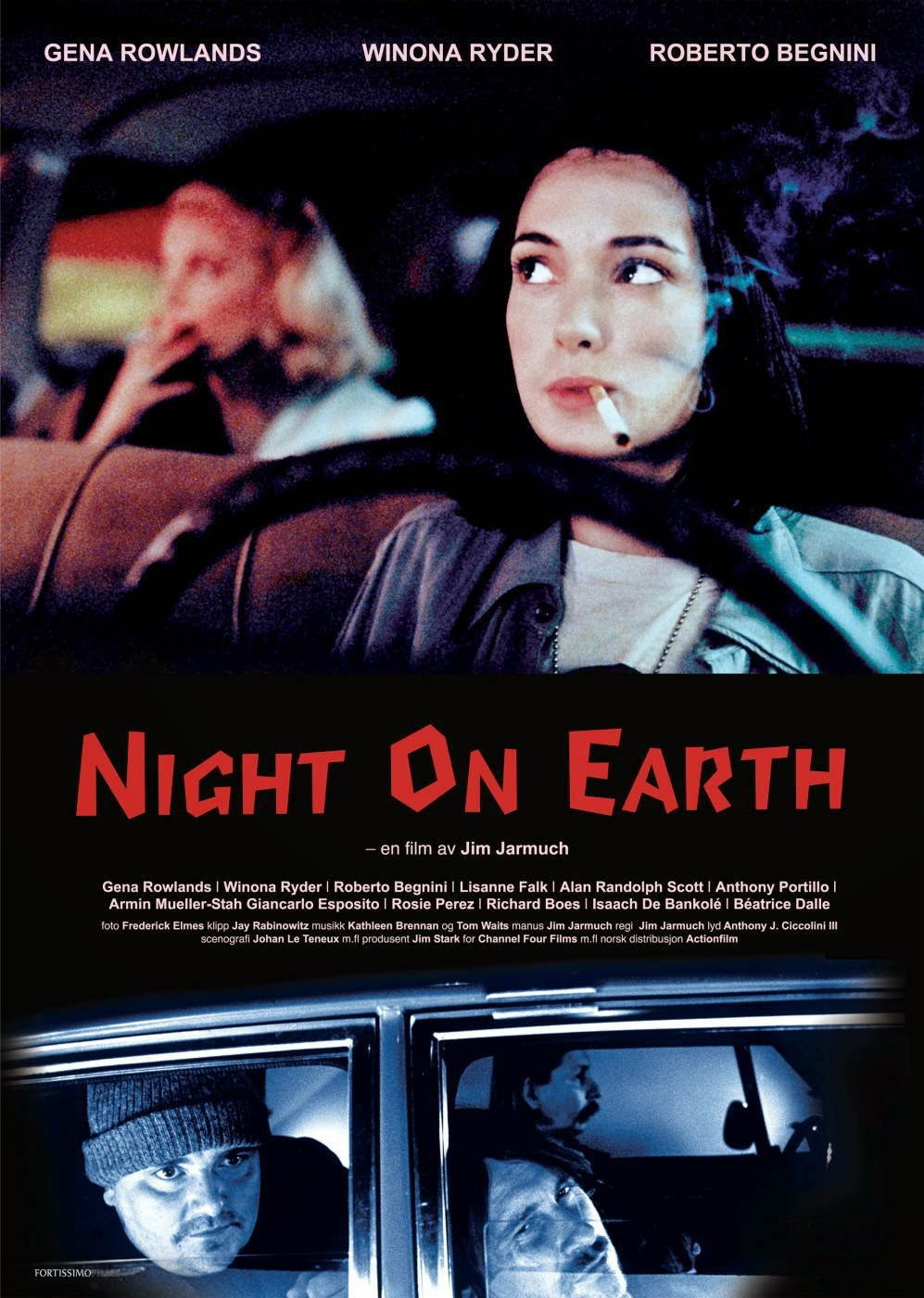 cartel Night on Earth 1991 Jim Jarmusch