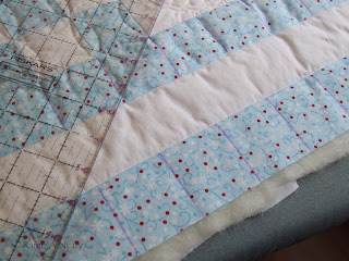 sew karenly created finished nine patch quilt