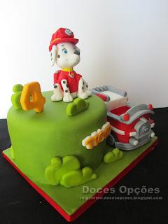bolo ambulância patrulha canina