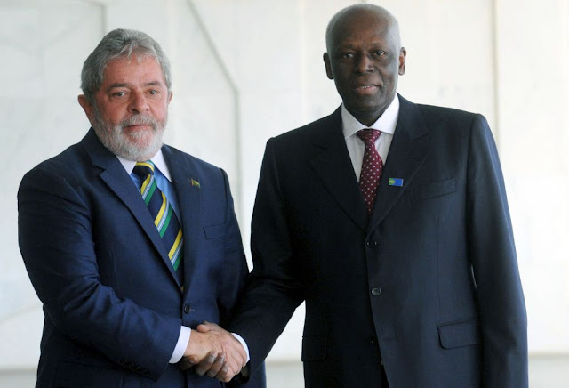 Resultado de imagem para Lula em Angola BNDES.