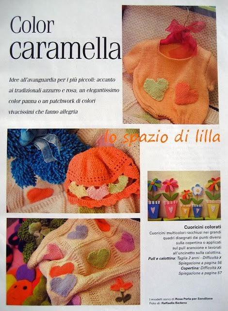 Lo spazio di lilla copertine e abitini baby color for Lo spazio di lilla copertine neonato