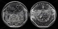50 cents - Cuban Convertible Peso - CUC
