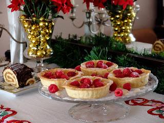 raspberry-mini-tarts, tartaletas-de-frambuesas