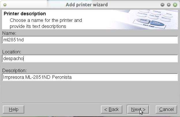 Impressora ml 2851nd Manual