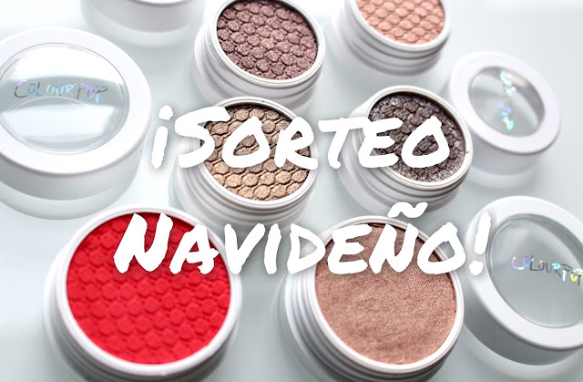 #cerrado# Sorteo Navideño Colour Pop | The Makeup Statement