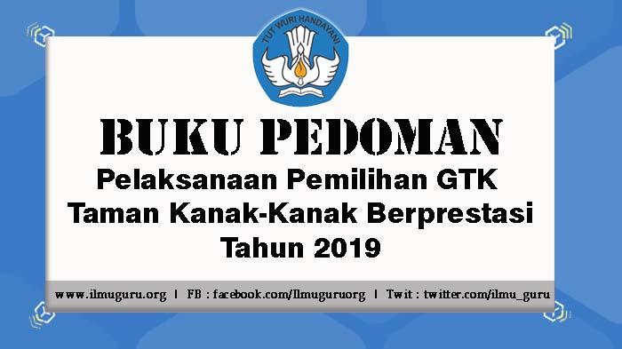 Pedoman Pemilihan GTK TK Berprestasi