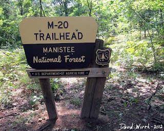 m-20 trailhead, manistee national forest, us department of agriculture, us forest service