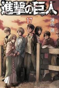 Shingeki no Kyojin Manga Tomo 17
