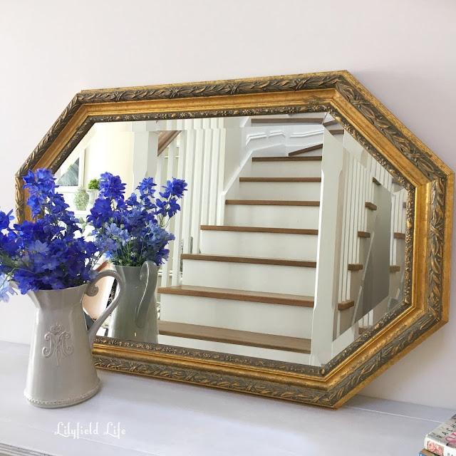 Vintage gilt mirror, lilyfield life