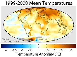 kenaikan suhu bumi