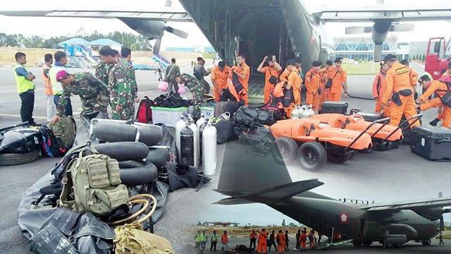 Mencari Korban Hilang Tenggelamnya KM Sinar Bangun, Pesawat Hercules Tiba di Bandara Tapanuli